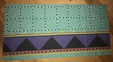 Vtg Collier Campbell Geometric Southwestern Frontier King Pillowcase