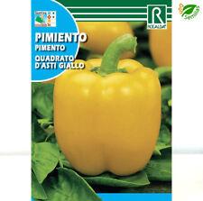 Pimiento Quadrato D'asti Giallo ( 1 gr / 150 semillas aprox ) seeds - Amarillo