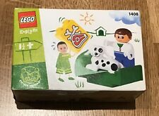 LEGO Duplo 1408 Walking the Dog with Daddy Explore Vintage, New & Sealed