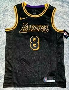 Kobe Bryant New Nike Dri-Fit Swingman Kobe Bryant City Edition Jersey Size 52 XL