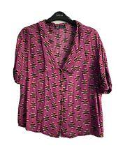 ZARA Vintage Style Shirt Pink XS