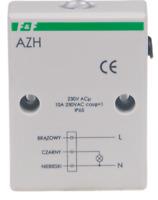 F&F Dämmerungsschalter AZH 230V mit Lichtsensor Schalter Light dependent relay