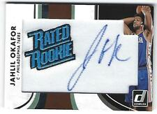 Jahlil Okafor 15/16 Panini Donruss Rated Rookie Patch Auto