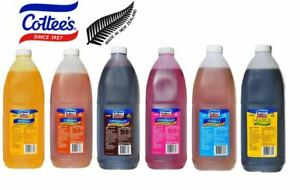 Cottees Topping Flavouring Syrup 3 Litres Range Banana Strawberry Vanilla & More