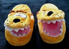Yellow Animal Slippers (Mouth Opens ) Unsized but 3/4 Years NEW not tagged