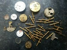 Collection Of Pocket Watch Parts
