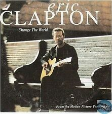 ERIC CLAPTON CHANGE THE WORLD france CD SINGLE card sleeve