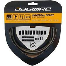 Tressé Titanium Gear Shift Cable Externe JAGWIRE Inox Intérieur Kit MTB Bike