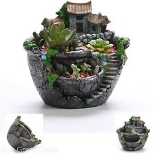 Creative Flower Pot Plants Holder Hanging Garden Home Office Desk Decor Gift New