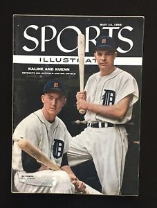 1956 5/14 Sports Illustrated Magazine / Al Kaline &  Kuenn / Detroit TIgers