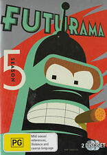 Futurama Series 5 NEW/SEALED Reg 4  Lots of Extras!    Actors: Billy West