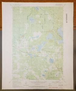 "Sawyer, Minnesota Original Vintage 1969 USGS Topo Map 27"" x 22"""