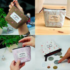 Ladies Women Canvas Oilcloth Large Purse Wallet Girls Coin Purse Handbag Bag S/