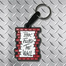 Pink Floyd The Wall Logo Rubber Keychain Rock N' Roll Band Roger Waters