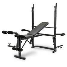 Proflex FTNWTBHPFAB3C Weight Bench Press Multi-Station Set