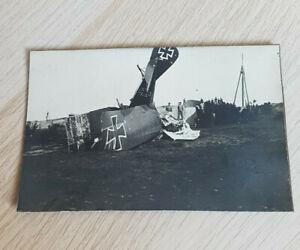 IWK Foto aufgeklebt zerstörtes FLUGZEUG
