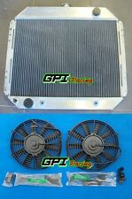 3 ROW Aluminum Radiator & Fans FOR Ford F100 F250 F350 V8 1967-1981 1968 1970