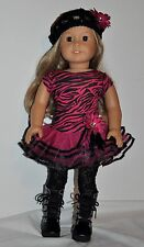 AMERICAN MADE DOLL CLOTHES FOR 18 INCH GIRL DOLLS DRESS LOT 00120- short sleeve