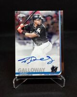 ⚾️2019 topps chrome ISAAC GALLOWAY (auto/rookie/parallel) #RA-IG⚾️ *Marlins*