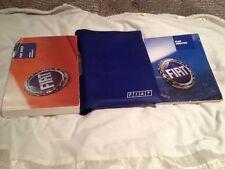 Fiat Stilo Owners Manual Handbook Mark 1 One Mk1 2001-2008