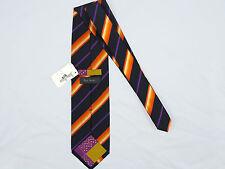 NEW! NWT! Paul Smith Colorful Striped Pure Silk Tie!   #Y9B33V