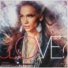 "JENNIFER LOPEZ ""LOVE"" PROMO POSTER FROM THAILAND - Sexy Hot Latin Dance Princess"