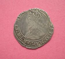 More details for charles i silver sixpence mm harp - 1632/3 spink 2811