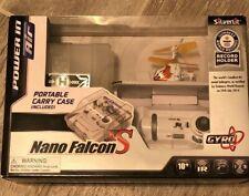 Silverlit Nano Falcon XS Smallest 3-Channel I/R Remote Control Helicopter RARE