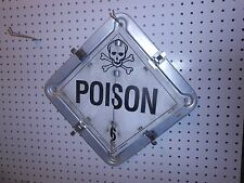 USED TRUCK SEMI TRAILER HAZMAT 9 IN 1  HAZMAT SIGN POISON FLAMMABLE CORROSIVE