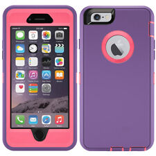 For iPhone 5 5S SE 6 6S 7 8 Plus Defender Case Hybrid Cover | Clip Fit Otterbox