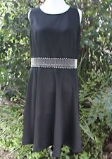 New Women Plus Size Formal Short Cocktail Black Dress Polyester 1X, 2X, 3X