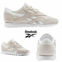 Reebok Classic Nylon Neutrals Shoes Sneakers Sandstone White BS9379 SZ 4-12.5