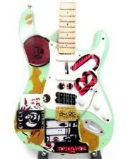 Green Day Tribute Miniature Guitar (UK SELLER)