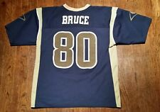 MINT Issac Bruce St. Louis Rams Large Logo Athletic Jersey
