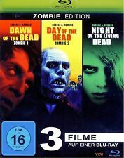 Dawn of the Dead - Day of the Dead - Night of the living Dead   Blu-ray