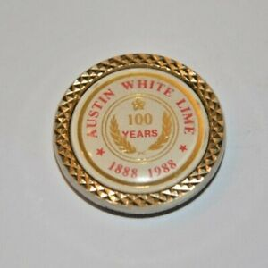 CatalinaStamps: Austin White Lime 100 Years 1888-1988 Bolo Tie, Lot #PB10