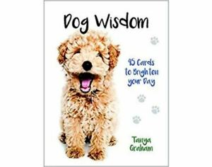 Fun and Inspiring 45 set Dog Wisdom Cards by Tanya Graham