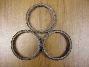 Military GMC M211 M135 Exhaust Seals Set of 3 #2278300