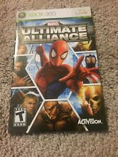 (NO GAME) - Marvel Ultimate Alliance - Microsoft Xbox 360 Manual Only