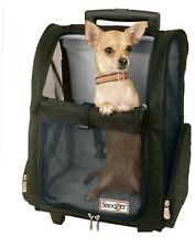 New listing Snoozer Roll Around 00006000  Travel Dog Carrier Backpack 4-In-1 Large - Red or Khaki