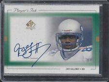 JOEY GALLOWAY 1999 SP AUTHENTIC PLAYER'S INK GREEN SEAHAWKS ON CARD AUTO