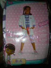 Disney Doc McStuffins Deluxe Girls Costume Size 4-6X