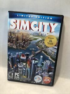 PC Game Limited edition SimCity G Rated EA Games 2013. Excellent Disc & Extras