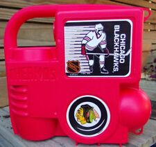 Extremely Rare New Vintage 1993 Chicago Blackhawks Thermos Lunchbox Complete