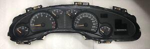 2000 - 2005 Pontiac Bonneville Speedometer Gauge Cluster 09382642 KPH Canada