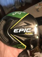 Callaway epic flash driver 10.5 (head only). Dent On The Sole
