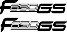 F650GS decals stickers Graphics 146 mm x 32 mm aventure Trail restauration
