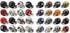 NFL Riddell poche de football américain pro révolution 32 casque fixé en cas noir
