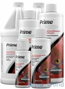 Seachem PRIME Dechlorinator Water Conditioner Aquarium Ammonia Remover Tap Safe