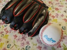 RAWLINGS YOUTH BASEBALL GLOVE AND BALL - ALEX RODRIGUEZ AUTOGRAPH MODEL - NEW